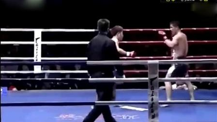 让你再嘚瑟, 杨建平发怒很难控制, 必须KO对方!