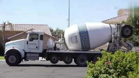 混凝土搅拌车的工作原理