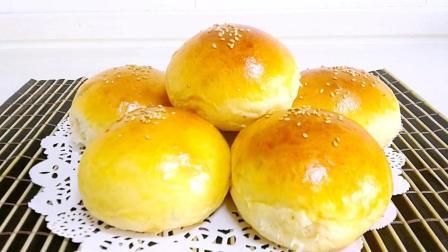 2分钟学会做葡萄干早餐小面包, 孩子天天吃都吃不够。