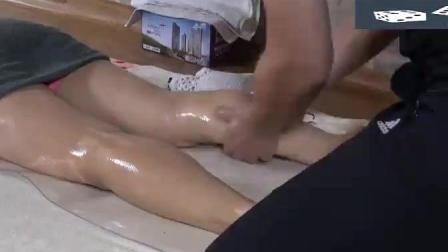 泰式腿部按摩, 按摩师知道怎么让顾客舒服和放松