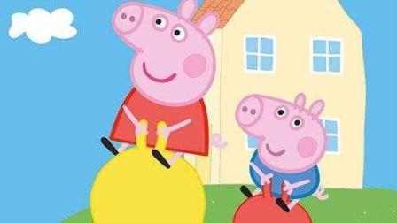 小猪佩奇玩游戏之小猪佩奇打糖果人