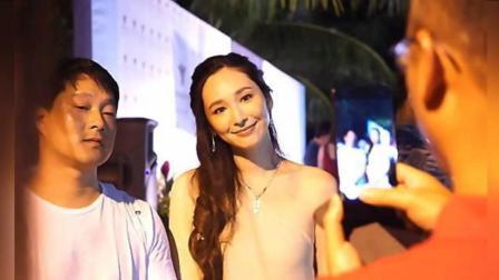吴佩慈与准婆婆 未婚夫罕见同框 以女主人姿态亮相 171207