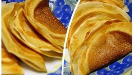 面粉别只用来蒸馒头了, 教你做热乎乎的蛋烘糕, 比面包还香