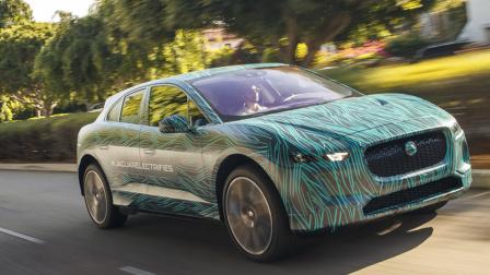 捷豹I-Pace纯电动汽车 将于明年上市
