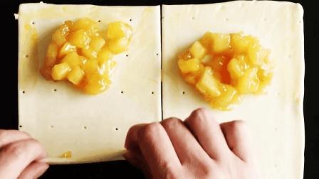 想吃苹果派不用去麦当劳, 在家一颗苹果就能做5个, 成本低味道好