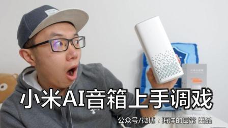 小米AI音箱小爱同学体验: 动动嘴不动手就能控制空气净化器和扫地机器人!