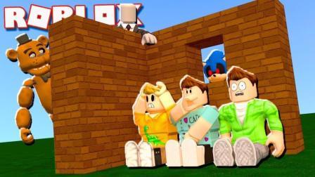 【Roblox建造生存模拟器】打造怪物迷宫! 恐怖场景生存指南! 小格解说 乐高小游戏
