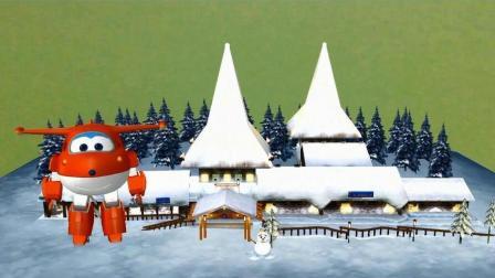 超级飞侠视频 第一季 超级飞侠带你去芬兰圣诞老人村看圣诞老人喽