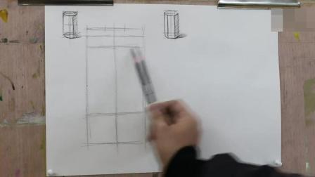 柱体15天学会素描 基础篇 新手人像素描入门教程 单人速写临摹