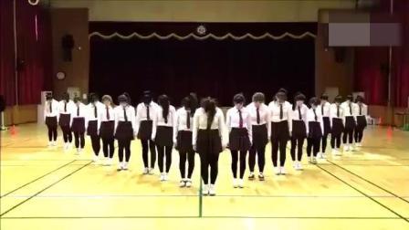 论韩国女高中生的舞蹈水准, 可以去出道了