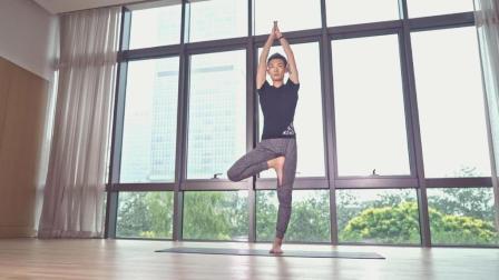 两分钟晨练高能量瑜伽序列, 唤醒身体活力满分