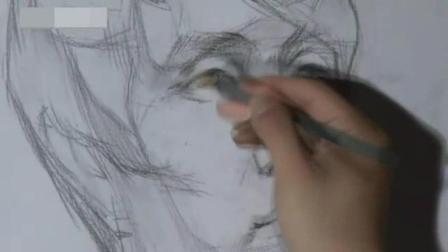 素描速成法 动漫人物速写图片临摹 如何画素描头像