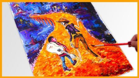 亲子互动寻梦环游记海报水彩画 背着小提琴的米格尔 小伶玩具 扮家家 巴拉拉小魔仙