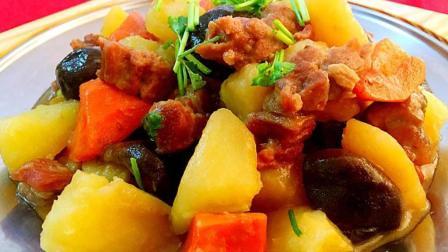 菜谱-红烧羊肉的做法, 汤鲜肉美, 肉烂软香的红烧羊肉