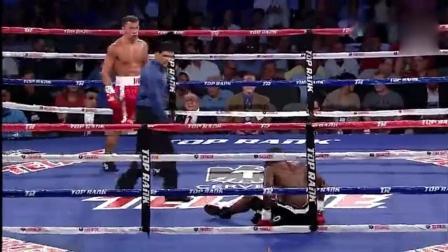 俄罗斯拳手对决, 看看谁能挺到最后, KO对方!