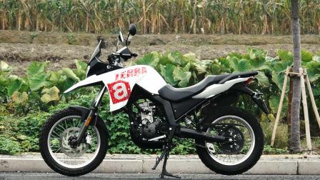 「呆子测评」入门级硬派ADV艾普瑞利亚(Aprilia)Terra 150 摩托车测评,17年第22集_骑士网