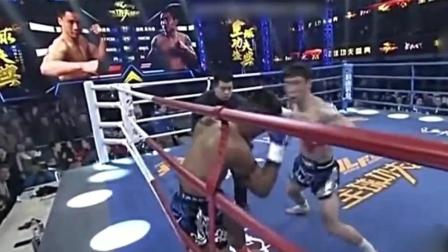 搏击赛场上真正的武者, 用自己的表现, 赢得了尊严!