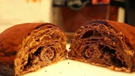 网红美食, 巧克力脏脏包面包, 大晚上的又把我看饿了