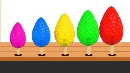 制作冰淇淋的玩具模具之做汉堡和蛋糕玩具视频12