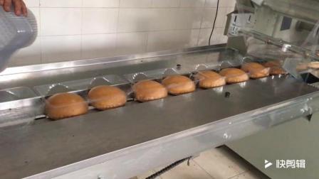 带托盘马拉糕包装机 面包包装机 速冻食品包装机