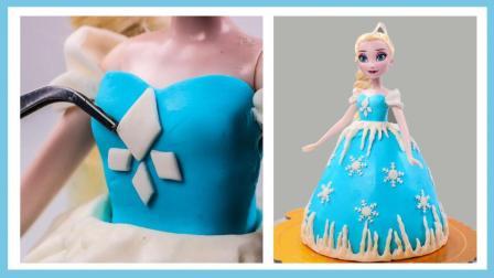 培乐多粘土学习制作艾莎公主的蛋糕裙 艾莎公主雪花蛋糕裙 小伶玩具 扮家家 蜘蛛侠