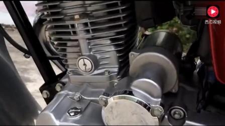 这款五羊本田现在还在生产, 南方人最喜欢这款摩托车了