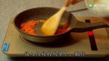 香煎米饭饼, 简单又好吃!