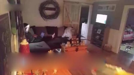 美国男子拿玩具枪射老婆 最后果然惹恼她了