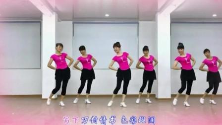 广场舞哦想分解动作 如何自学广场舞 双人十六步广场舞