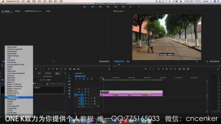 premiere cc2018实例教 PR新字幕详解、方便、简单、快捷制作字幕
