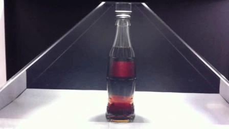 可口可乐火米全息展示: 眼球捕捉者