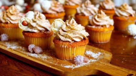 """诱人的""""南瓜蛋糕""""! 做法简单, 健康美味!"""