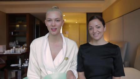 维密天使超模Karlie Kloss上海大秀前奇葩护肤绝招! 只有想不到没有做不到!