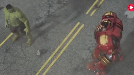 钢铁侠3番外篇: 大战绿巨人, 比原片更好看