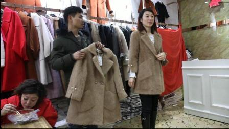 尾源服饰第487期羊绒女装外套