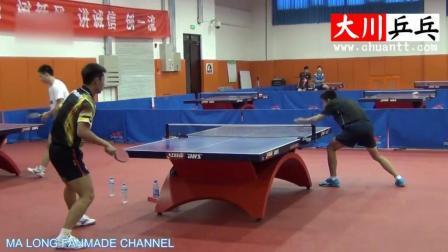 张继科乒乓球训练视频