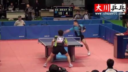 吉田海伟乒乓球比赛精彩剪辑