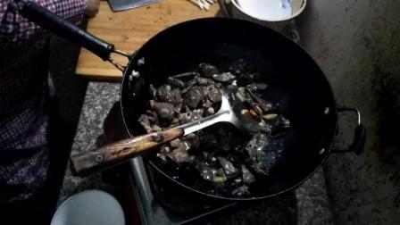 猪肺炒辣椒