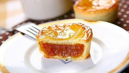 法式乳酪月饼, 口感柔细绵密, 清爽怡人的乳酪融合着香甜迷人的牛奶香!