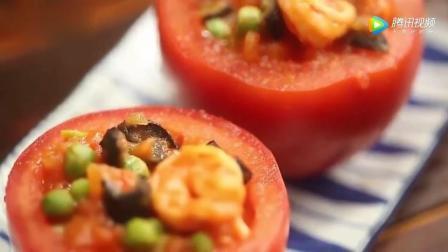 番茄鲜虾海参盅的做法, 自己在家做, 做法简单!