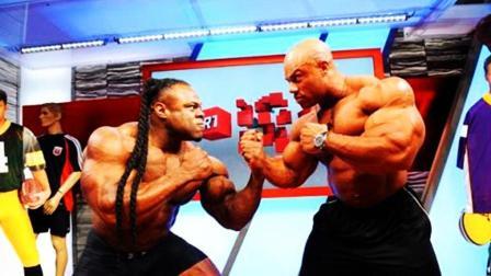 """健美界的2大""""死对头"""", 凯格林VS菲尔希斯, 到底谁更强?"""