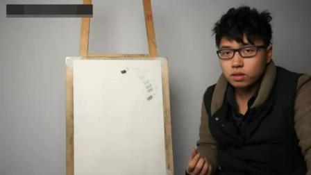 速写钢笔速写树_素描入门第一课风景油画教程