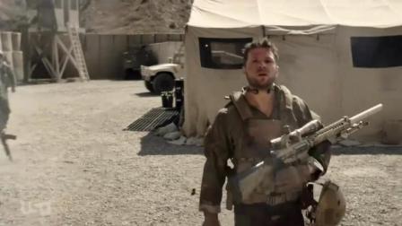 坎大哈边境上的狙击, 可怜的美军狙击手