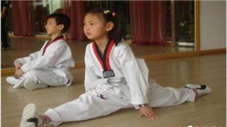 少儿跆拳道教学视频