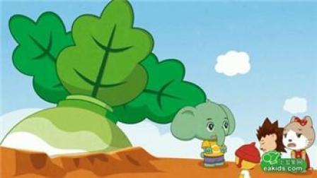 小白兔拔萝卜儿歌 儿歌拔萝卜连续播放 熊出没