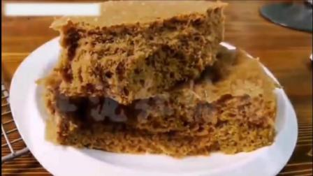 超级好吃制作简单的枣泥红糖糕