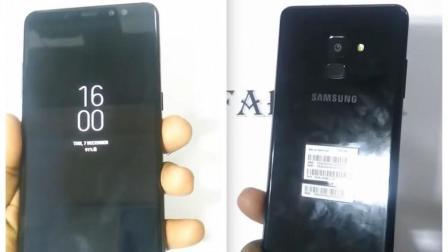 超长全面屏+虹膜! 三星 Galaxy A8+上手提前亮相!
