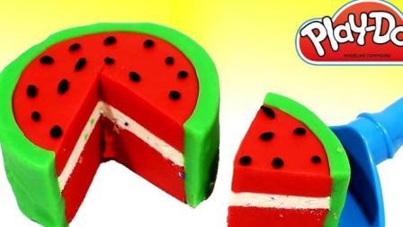 制作蛋糕和汉堡玩具视频  制作冰淇淋的玩具模具视频96