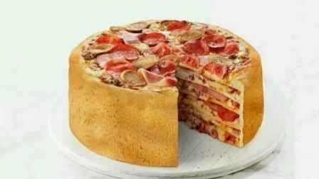 一个披萨, 三种口味, 吃货完全把持不住自己啦~