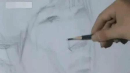 动漫人物速写图片临摹 素描速成法 如何画素描头像